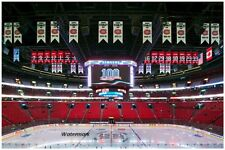 NHL Montreal Canadiens Bell / Molson Center Rafters Cup Banners 8 X 12 Photo Pic