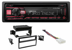 ALPINE CD Receiver Stereo Android/MP3/WMA/USB/AUX For 07-11 Nissan Versa