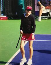 Anna Kournikova Smiling Candid 8x10 Color Photograph 2009 Charity Tennis Event