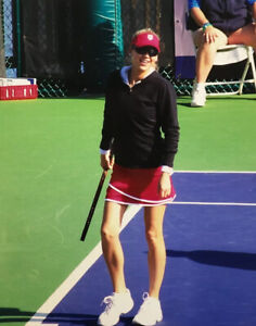 Anna Kournikova Smiling Candid 8x10 Color Photograph 2009 Charity Tennis Event