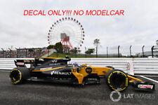 Decal renault rs17 Hulkenberg Palmer JAPANESE GP 1/43 minichamps spark F1
