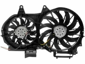 For 2002-2009 Audi A4 Auxiliary Fan Assembly Dorman 46967MQ 2008 2006 2004 2005