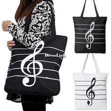 Donne Totes Shopper tracolla Canvas borsa borse donna simbolo grande tasca