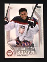 2018 Topps US Winter Olympics Base #USA-27 Rico Roman
