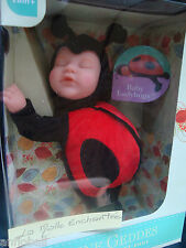 POUPEE DOUDOU ANNE GEDDES BEBE COCCINELLE 2016   20 CM BEAN FILLED SOFT BODY