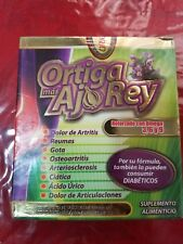 Ortiga and Ajo Rey with Omega 3, 6 and 9  Dietary Supplement  01/2024