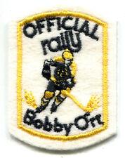 "1970'S BOBBY ORR BOSTON BRUINS RALLY 3"" NHL HOCKEY VINTAGE PATCH"