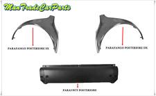 KIT 3 PEZZI POSTERIORE PARAFANGO DX E SX PARAURTI SMART CABRIO 450 03/2000->