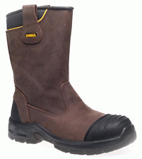 Dewalt Millington Brown Waterproof Steel Toe Rigger Work Boot S3 - NEW RANGE