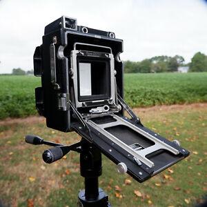 4X5 Field Camera, Graphic/Toyo