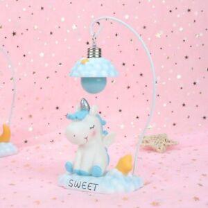 Unicorn Night Light for Children Bedroom Table Lamp Cute Cartoon LED Night Lamp