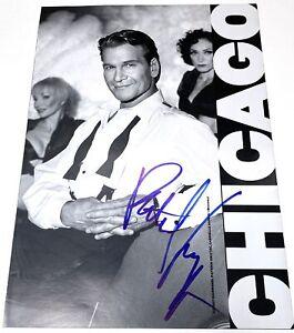 Patrick Swayze Authentic Autographed Chicago Broadway Program