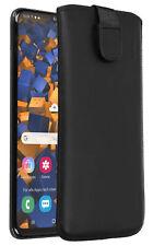 mumbi Leder Tasche für Samsung Galaxy A50 Etui Hülle Case Cover Bumper Schutz