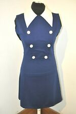 POP BOUTIQUE MOD SCOOTER 1960s MARY QUANT STYLE  DRESS BNWT