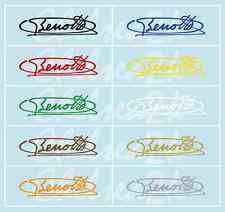 Choice of 1 Benotto Bicycle Signature Water Slide Transfers Decals Autocollants