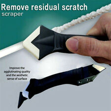 3In1 Silicone Remover Caulk Finisher Sealant Smooth Scraper Grout Kit Tools New