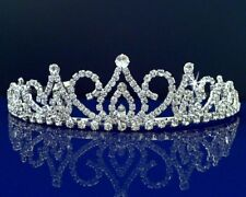 SparklyCrystal Bridal Rhinestone Crystal Wedding Prom Princess Tiara Crown 24686