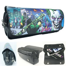 Suicide Squad The Joker Pencil Case DC Cosmetic Make Up Bag Storage Pouch Gifts