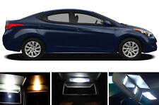 Xenon White Vanity / Sun visor LED light Bulbs for Hyundai Elantra (2 Pcs)