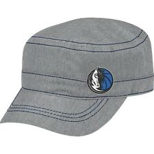 Dallas Mavericks Adidas NBA Womens Military Hat Gray SLOUCH NEW NWT GREY BACKET
