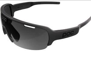 POC Do Half Blade Sunglasses Uranium Black, Black Lens