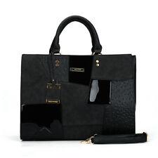 Womens Ladies Designer Leather Style Fashion Modern shoulder bag Hand Bag Tote