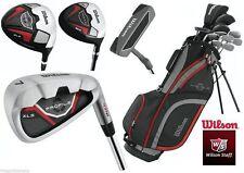 Wilson Golfschläger aus Stahl für Linkshänder