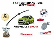 FOR CHEVROLET SPARK 1.0 1.2 2010->NEW FRONT BRAKE HOSE  LEFT / RIGHT OE 96682950