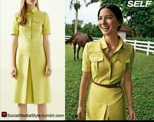 Gucci leather french plonge cuir dress, size 38, $5000