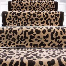 Animal Leopard Skin Print Stair Carpet Long Runner Rugs Stair Carpet Any length