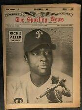 AUGUST 14,1965 SPORTING NEWS PHILADELPHIA PHILLIES RICHIE DICK ALLEN