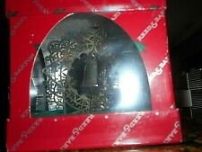 Reed and Barton Silver Snowflake Bell Ornament - New in Sealed Box