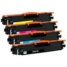 4 x 126A Toner Cartridge for HP CE310A CE311A CE312A CE313A M175nw M275 CP1025NW