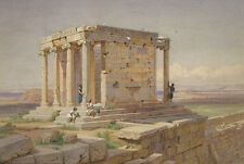 The Temple of Athena Nike. View from the North-East Werner Griechenl B A3 00993