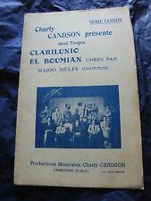 Partition Clarilunio El Boumian de Mario Melfi