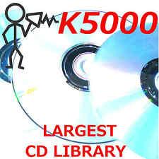 Kawai K5000 K5000s K5000w K5000r KA1 Largest Patch Sound Program Library CDROM