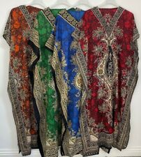 NEW WOMENS LADIES KAFTAN LONG DRESS AFRICAN DRESS DASHIKI PLUS SIZE SUMMER DRESS