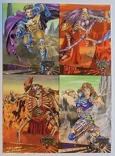 1995 Fleer Ultra Skeleton Warriors - Promo card