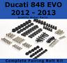 Complete Fairing Bolt Kit body screws fastener Ducati 848 EVO 12 - 13 Stainless