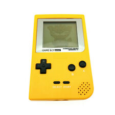 Yellow Nintendo Game Boy Pocket Game Console System GBP + Game Card