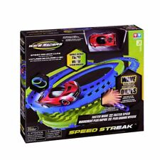NEW Wave Racers Speed Streak Closed Circuit Track - Fast Race Toy Cars Set