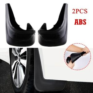 2PCS ABS Truck Car RV Mud Flaps Mudgurads Fender Dust Guards Protect Cover Plate
