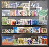 50 GB Used Stamps - All Different Selection of Stamps, Off Paper, George VI On