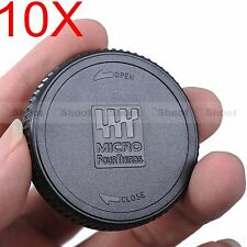 10x Rear Lens Cap Cover for Panasonic M4/3 H-X H-F H-ES H-H H-NS H-PS H-FS serie