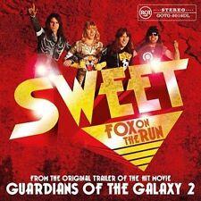 Sweet Fox on The Run New/mint Yellow Vinyl 12 Inch Single RSD 2017