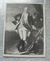 Vintage 1913 Mentor association Print of George Washington