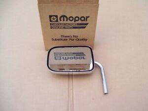 NOS MoPar 1984 - 1987 Dodge Plymouth van chrome outside MIRROR HEAD 4354327