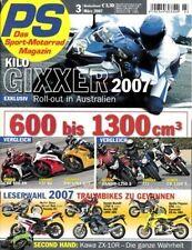 PS0703 + HONDA CB 1300 S vs. SUZUKI Bandit 1250 S vs. YAMAHA FZ1 + PS 3/2007
