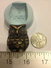 OWL SILICONE MOLD #63 CHRISTMAS, SOAP, CANDLE, HALLOWEEN, FAVORS, RESIN CRAFT