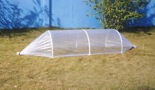 Garden Cloche 2 Metre Long x 0.75M Wide, with Plastic Cover and Rods